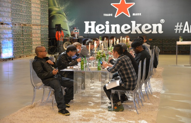 *PRIVATE GALLERY* Heineken Star Bottle Launch Private Dinner